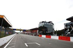 Zolder start/finish