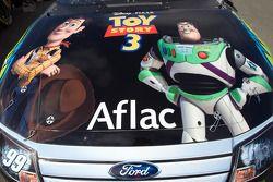 Le coffre de la #99 Aflac Ford présente le film Toy Story 3