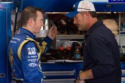 Kurt Busch, Penske Racing Dodge et chef d'équipe Steve Addington