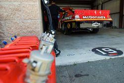 La McDonald's Chevrolet dans le garage