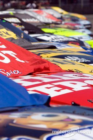 Les NASCAR Sprint Cup alignée pour les qualifications