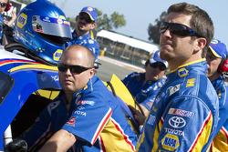 El Toyota de Martin Truex Jr., Michael Waltrip Racing