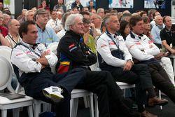 Team Peugeot conférence de presse: Hugues de Chaunac