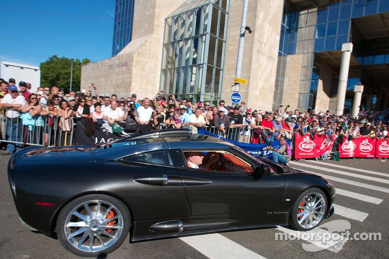 Super cars parade