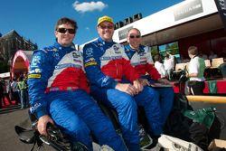 Thomas Erdos, Mike Newton en Andy Wallace
