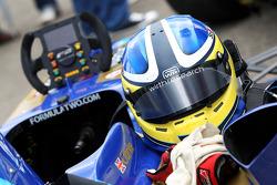 The helmet of Jack Clarke