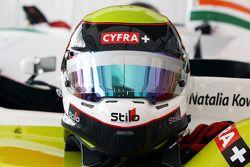 De helm van Natalia Kowalska