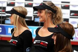 Formula Two grid girls