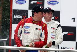 Podium: race winner Dean Stoneman, second place Jolyon Palmer