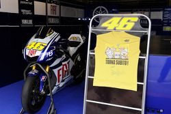 Message for Valentino Rossi, Fiat Yamaha Team