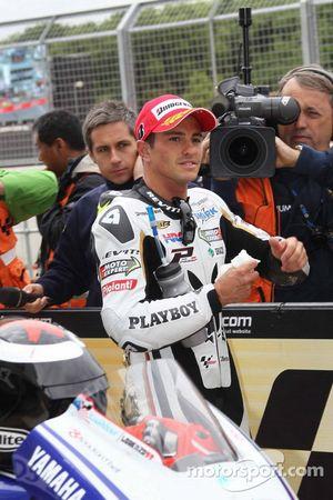 2de plaats Randy De Puniet, LCR Honda MotoGP