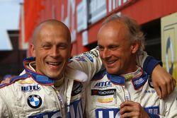 Andrei Romanov, Liqui Moly Team Engstler, BMW 320si et Franz Engstler, Liqui Moly Team Engstler, BMW