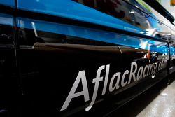 Le camion Alfac dans le garage