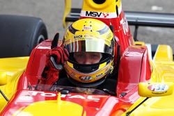 Benjamin Bailly fête son succès en pole position pour la course2