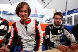 Banjamin Lariche et Philipp Eng en session d'autographes