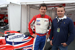 Jolyon Palmer with Dominic List, Comtact