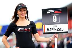 F2 grid girl for Mihai Marinescu