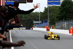 Race winnaar Benjamin Bailly