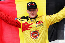 Podium: race winner Benjamin Bailly