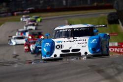 #01 Chip Ganassi Racing avec Felix Sabates BMW / Riley: Scott Pruett, Memo Rojas sur le point de pas