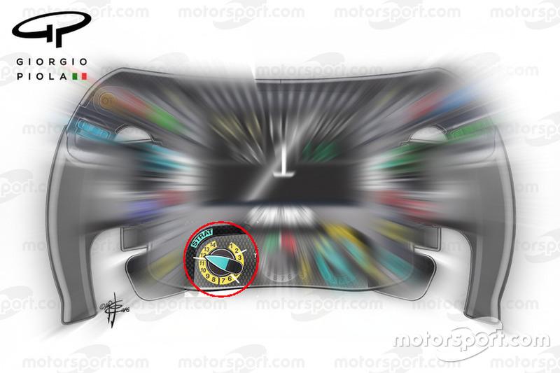 Le volant Mercedes AMG-F1