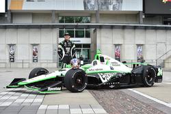 Präsentation des Autos von Conor Daly, Dale Coyne Racing Honda