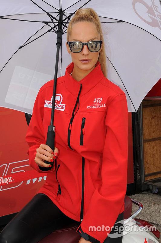 Ducati Team grid girl
