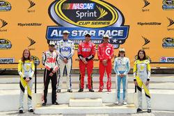 Drivers advancing to All-Star race: Chase Elliott, Hendrick Motorsports Chevrolet, Trevor Bayne, Roush Fenway Racing Ford, Greg Biffle, Roush Fenway Racing Ford, Kyle Larson, Chip Ganassi Racing Chevrolet