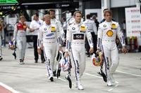 Tom Blomqvist, BMW Team RBM, BMW M4 DTM; Augusto Farfus, BMW Team MTEK, BMW M4 DTM; Maxime Martin, BMW Team RBM, BMW M4 DTM