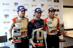 Tom Dillmann, AVF, Matthieu Vaxiviere, SMP Racing et Alfonso Celis Jr, AVF