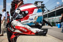 Шлем Михаила Алешина, Schmidt Peterson Motorsports Honda