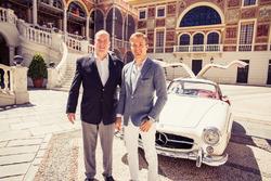 Nico Rosberg e Principe Alberto di Monaco