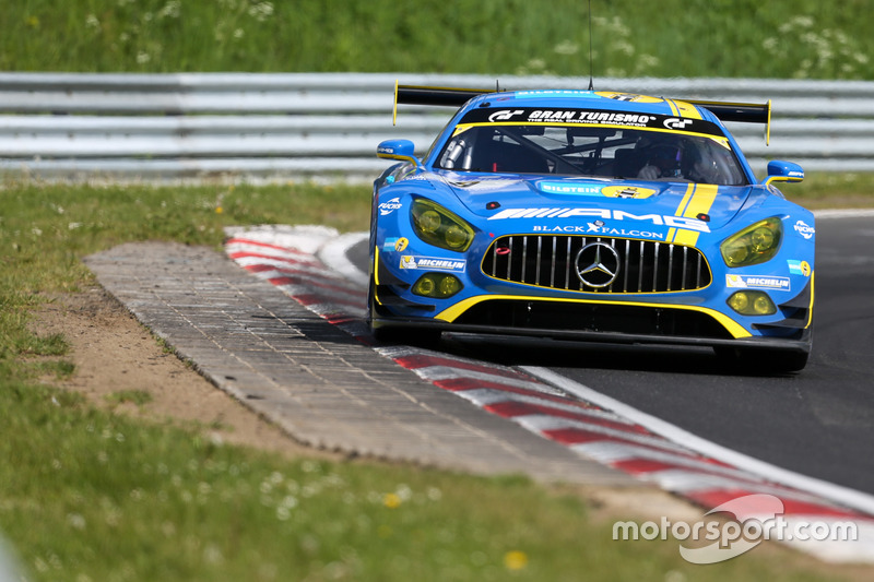 1. #9 AMG-Team Black Falcon, Mercedes AMG GT3