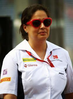 Monisha Kaltenborn, Sauber Team Principal