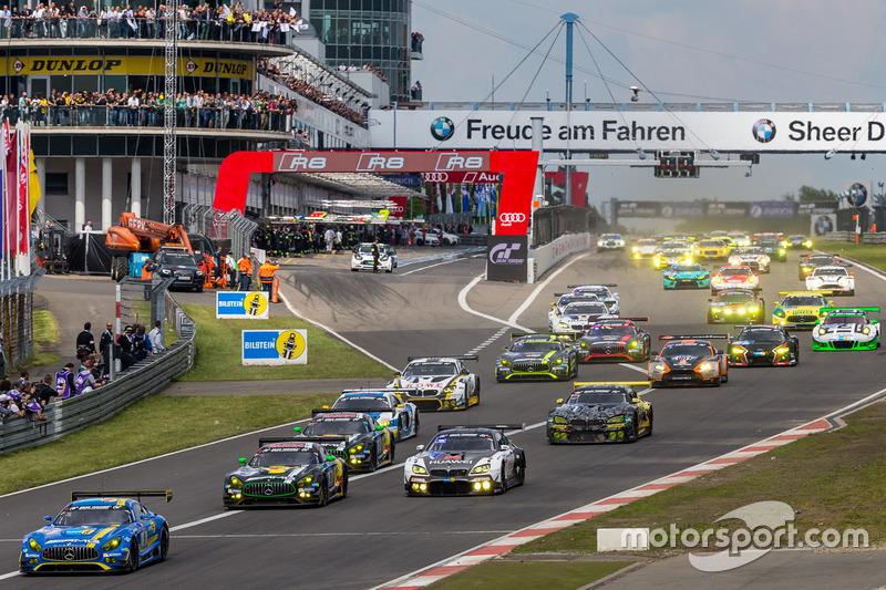 #5: Start zum 24-Stunden-Rennen am Nürburgring