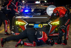 #2 Audi Sport Team WRT, Audi R8 LMS: Stuart Leonard, Robin Frijns, Edward Sandström, Frederic Vervisch