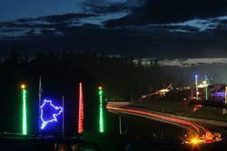 Atmosphäre an der Nordschleife bei Nacht