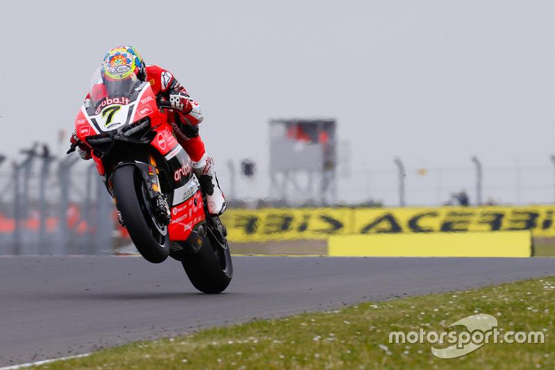 Chaz Davies (Ducati; Sturz/3.)