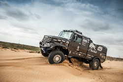Нова вантажівка команди КамАЗ-Мастер