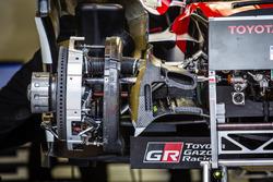 Un frein de la #6 Toyota Racing Toyota TS050
