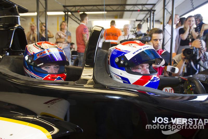 Jos Verstappen, Victoria Verstappen, F1 biplaza