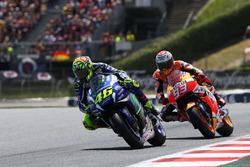 Valentino Rossi, Yamaha Factory Racing, Marc Marquez, Repsol Honda Team