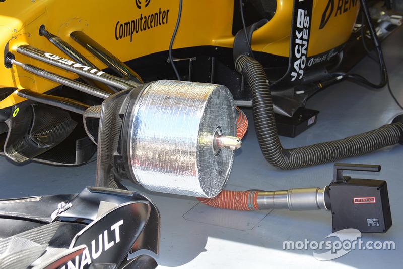 Renault Sport F1 Team RS16 voorrem detail