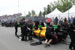 Кевин Магнуссен, Renault Sport F1 Team RS16 на стартовой решетке