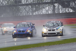 #103 Las Moras Racing Team, BMW M3 GT4: Liesette Braams, Frans Verschuur; #128 Allied Racing BMW M3 GT4: Jan Kasperlik, Dietmar Lackinger