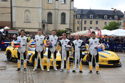 #63 Corvette Racing - GM Chevrolet Corvette C7-R: Jan Magnussen, Antonio Garcia, RickyTaylor, #64 Corvette Racing - GM Chevrolet Corvette C7-R: Oliver Gavin, Tommy Milner, Jordan Taylor