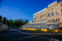 Baku City Circuit, Kurve 11 mit der Burg