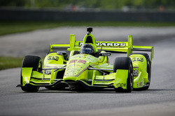 Brad Keselowski, Team Penske drives Simon Pagenaud's IndyCar