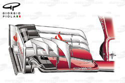 Ferrari SF16H front wing, Sochi GP