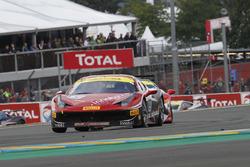 #151 StileF Squadra Corse, Ferrari 458 Challenge Evo: Thomas Loefflad